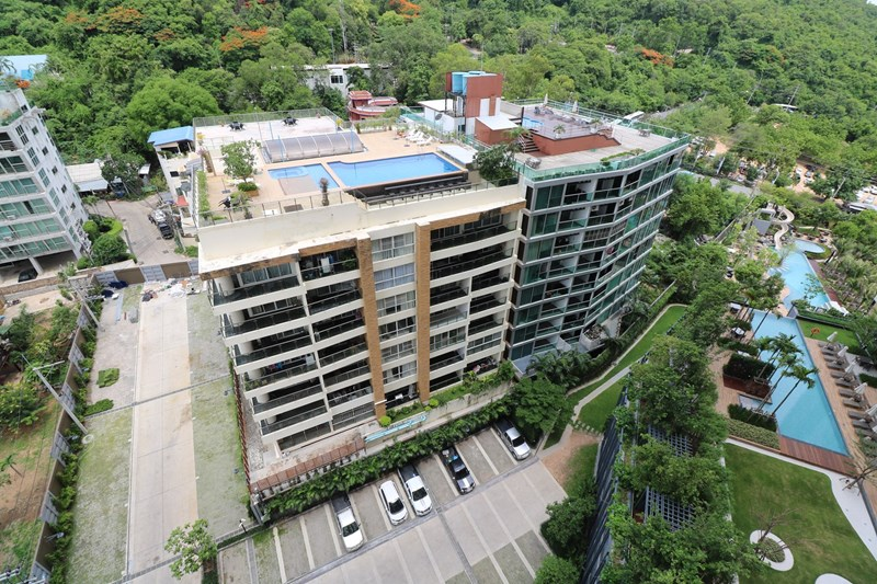 Very spacious unit, 300 meters from Walking St. - คอนโด -  - Pratamnak Soi 1